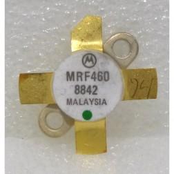 MRF460 NPN Silicon Power Transistor, 40 W (PEP), 30 MHz, 12.5 V, Motorola