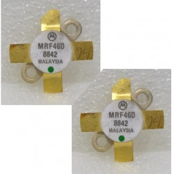 MRF460MP NPN Silicon Power Transistor, 40 W (PEP), 30 MHz, 12.5 V, Matched Pair, Motorola