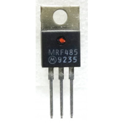 MRF485-LO NPN Silicon RF Power Transistor, 28 V, 30 MHz, 15 W (PEP), Low Beta