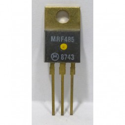 MRF485MP-HI NPN Silicon RF Power Transistor, 28 V, 30 MHz, 15 W (PEP), High Beta, Matched Pair, Motorola (limited to One Pair - Per Customer Per Order)