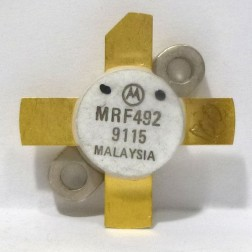 MRF492 NPN Silicon RF Power Transistor, 50 MHz, 70 W, 12.5 V, Motorola limited stock. mixed lots