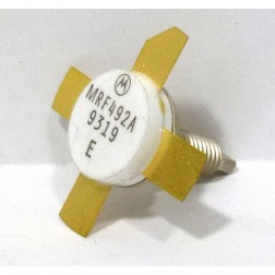 MRF492AMQ NPN Silicon RF Power Transistor, Matched Quad, Stud Mount, 50 MHz, 70 W, 12.5 V, Motorola