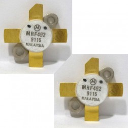 MRF492MP NPN Silicon RF Power Transistor, Matched Pair, 50 MHz, 70 W, 12.5 V, Motorola
