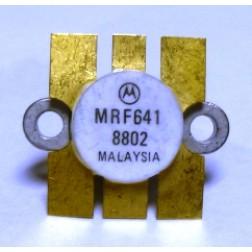 MRF641-MOT NPN Silicon RF Power Transister, 12.5 V, 470 MHz, 15 W, Motorola