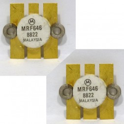 MRF646MP NPN Silicon RF Power Transistor, 12.5 V, 470 MHz, 45 W, Matched Pair, Motorola