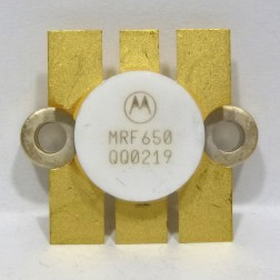 MRF650 NPN Silicon RF Power Transistor, 12.5 V, 470 MHz, 50 W, Motorola