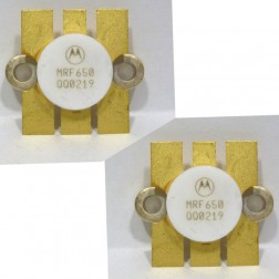 MRF650MP NPN Silicon RF Power Transistor, 12.5 V, 470 MHz, 50 W, Matched Pair, Motorola