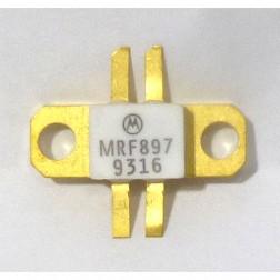 MRF897 NPN Silicon RF Power Transistor, 24 V, 900 MHz, 30 W, Motorola