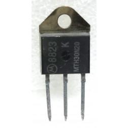 MTH30N20  TMOS Power Mosfet Transistor, 150 Watt PEP, TO-218AC, Motorola