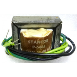 P-6465 Low voltage transformer, 117VAC, 6.3v C.T., 0.6 amp, Stancor