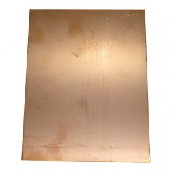 "PC8X6  Copper Board, Double Sided 8"" x 6"""