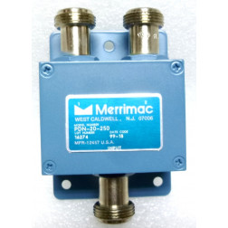 PDN-20-250 Power Divider/Combiner, 10-1000 MHz, 50 ohm, -3dB, Type-N Female, Merrimac