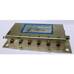 PE7011-6A  Programmable Attenuator, 63dB, 0.5 watt, DC-1000 MHz, SMA Female, Pasternack (Clean Used)
