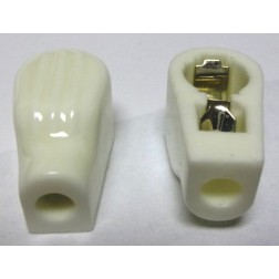 "PLCAP2  Ceramic Plate cap for tubes with plate diameter of 0.35"": 6146B / 6146W / 6LQ6 / 8950 tubes, Taylor"