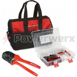 POWERPOLEBAG  Powerpole crimping tool & Powerpole case in a custom bag