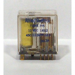 R104PDT-term Relay, 4PDT Term 12v 185ohm, 2amp