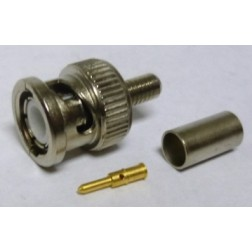 R141-082-161  BNC Male Crimp Connector, RG58, Radiall