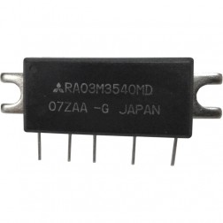 RA03M3540MD, RF Power Module, 350-400 MHz, 3 Watt, 7.2v, Mitsubishi