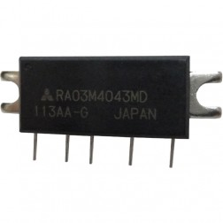 RA03M4043MD, RF Power Module, 400-430 MHz, 3 Watt, 7.2v, Mitsubishi