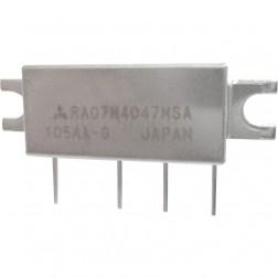RA07M4047MSA, RF Power Module, 400-470 MHz, 7 Watt, 7.2v, Metal Case, Mitsubishi