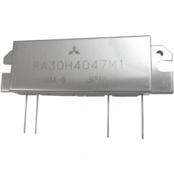 RA30H4047M1  RF Module, 400-470 MHz, 30 Watt, 12.5v, Metal Case, Mitsubishi