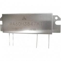 RA60H3847M1  RF Module, 378-470 MHz, 60 Watt, 12.5v, Mitsubishi