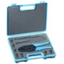 RFA4005-701 Crimper kit w/RFA4005-20 Handle  with RFA4005-07 & RFA4005-10 dies in Blue carrying case