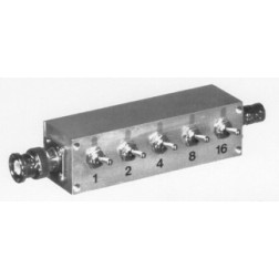 RFA4056-03 Attenuator Switch, 1-30dB, 1 watt, DC-1,000 MHZ , BNC Male/BNC Female,