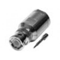0-RFB1101-PL BNC Male Clamp Connector, Cable Group P, RFI