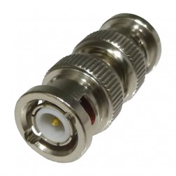 0-RFB1133 In-Series Adapter, BNC Male to Male Barrel, RFI