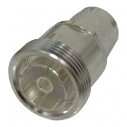RFD1672-2  Between Series Adapter, 7/16 DIN Female to Type-N Male, RF Industries