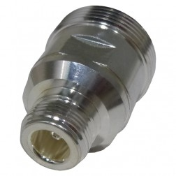 RFD1673-2  Between Series Adapter, 7/16 DIN Female to Type-N Female, RF Industries