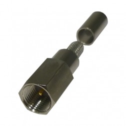 RFE6000-C Connector, FME Male crimp, Cable Group: C, RF Industries
