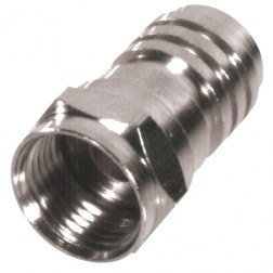 RFF1402-D Type F Male Crimp Connector, Cable Group D, RF Industries