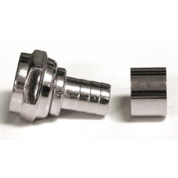 RFF1402-Q Connector, Type F Male Crimp, Cable Group Q. RF Industries