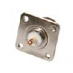RFN1021-03  Type-N Female 4 Hole Panel Mount w/BECU Contact, RFI