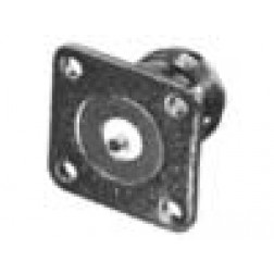 RFN1021-14  Type-N Female 4 Hole Panel Mount w/Slotted Terminal, RF Industries