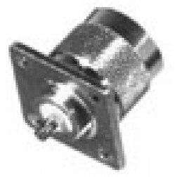RFN1041-1  Type N Male 4 Hole Panel Chassis Connector, RFI