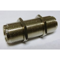 "RFP518-2 IN Series Adapter,UHF Female to Female(SO239) Barrell, 1.75"" long"