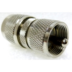 RFP7329N  Between Series Adapter, Type-N Male to UHF Male (PL259)