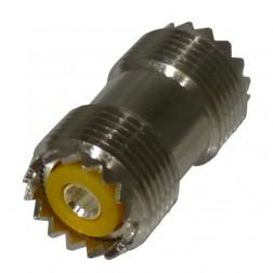 RFU536  IN Series Adapter, Female to Female Barrel (SO239), PL258, RF Industries