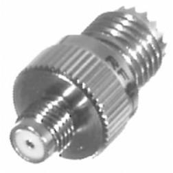 0-RFU642 Between Series Adapter, MIni-UHF Female to SMA Female Motorola, RFI