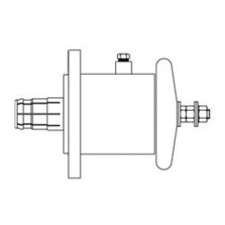 """2060-1-CW Between Series Adapter, 7/8"""" EIA to End Terminal, Cablewave"""