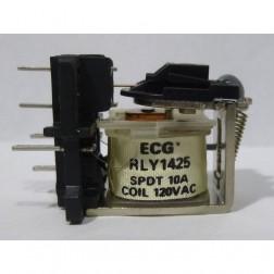 RLY1425 Relay, spdt 10a 120vac, ECG