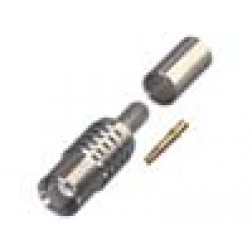 RMX8100-B  MCX Female Crimp Connector, RFI