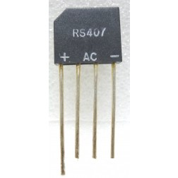 RS407  Bridge Rectifier, 4a 800v