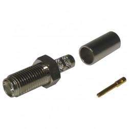 RSA3050-C1  SMA Female Crimp Connector, Cable Group C1, RFI
