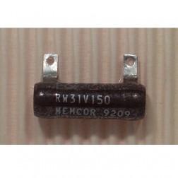 RW31V150 Wirewound Resistor, 15 ohm 15watt, Memcor