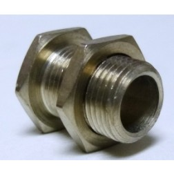 "SC8  Panel Mount Shaft Collar, 1/4"".  Panel Hole 3/8"" mtg."