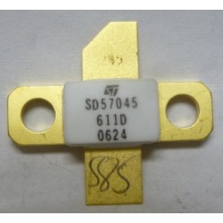 SD57045 Transistor, N-CHANNEL ENHANCEMENT-MODE LATERAL MOSFET, ST Micro